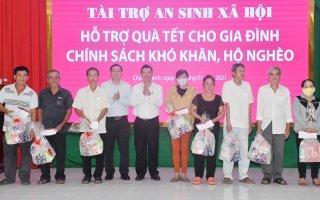 Trao 200 phần quà Tết cho người nghèo ở Châu Thành