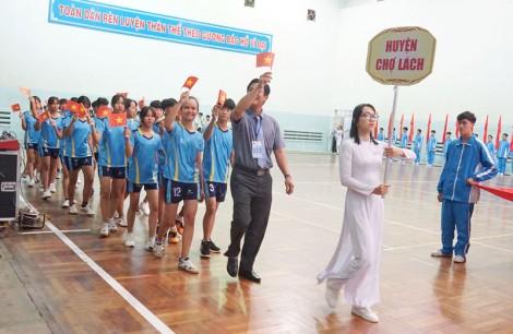 Khai mạc Hội khỏe Phù Đổng tỉnh Bến Tre năm 2021