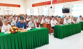 Thạnh Phú họp mặt cán bộ hưu trí mừng Đảng, mừng xuân Tân Sửu năm 2021