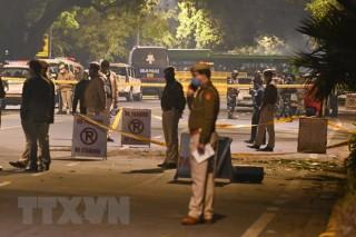 Israel thông tin thêm về vụ nổ bom bên ngoài Đại sứ quán ở Ấn Độ