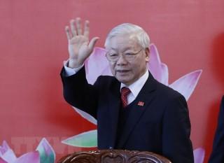 Các nước gửi điện mừng Tổng Bí thư, Chủ tịch nước Nguyễn Phú Trọng