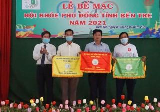 Bế mạc Hội khỏe Phù Đổng tỉnh Bến Tre năm 2021
