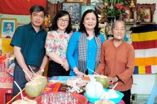 Phó bí thư Thường trực Tỉnh ủy thăm, chúc Tết gia đình chính sách