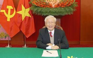 Tổng Bí thư, Chủ tịch nước Nguyễn Phú Trọng điện đàm với Chủ tịch Đảng Nhân dân, Thủ tướng Campuchia Hun Sen