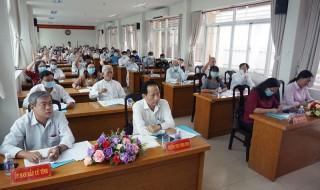 Ủy ban MTTQ Việt Nam tỉnh hiệp thương lần thứ nhất công tác bầu cử