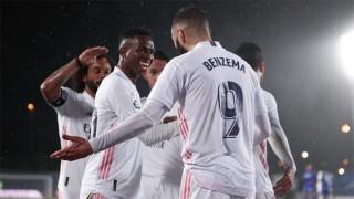 Real đánh chiếm ngôi nhì bảng của Barca