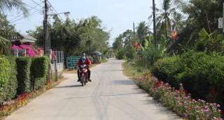 Bình Thành hoàn thành nhiều công trình giao thông nông thôn trị giá trên 1,3 tỷ đồng