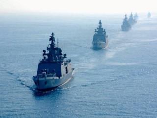 Hải quân Ấn Độ tiến hành tập trận quy mô lớn ở Ấn Độ Dương