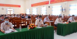 Thạnh Phú triển khai công tác bầu cử đại biểu Quốc hội khóa XV và đại biểu HĐND các cấp, nhiệm kỳ 2021 - 2026