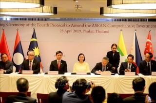 Phê duyệt Nghị định thư thứ tư sửa đổi Hiệp định đầu tư toàn diện ASEAN