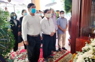 Thành lập Ban phục vụ và các Tiểu ban của Tỉnh ủy phục vụ Lễ tang đồng chí Trương Vĩnh Trọng
