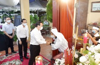 Danh sách Ban Lễ tang đồng chí Trương Vĩnh Trọng