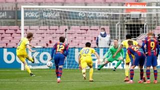Barca đánh rơi chiến thắng trước Cadiz