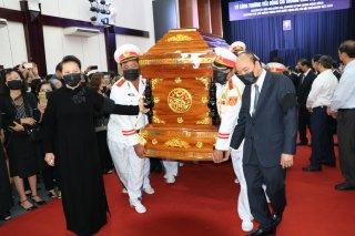 Lễ truy điệu và an táng nguyên Phó Thủ tướng Chính phủ Trương Vĩnh Trọng