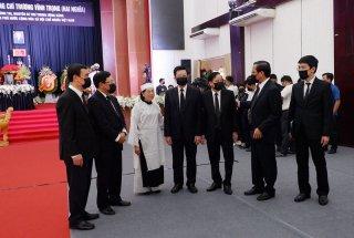 Lời cảm ơn của Ban Lễ tang Nhà nước và gia đình đồng chí Trương Vĩnh Trọng