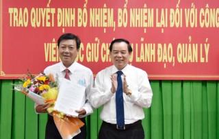 Bổ nhiệm Giám đốc sở Lao động - Thương binh và Xã hội