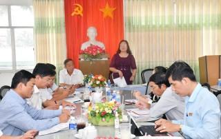 Phó bí thư Thường trực Tỉnh ủy làm việc với Ban Thường vụ Đảng ủy Khối Cơ quan - Doanh nghiệp tỉnh