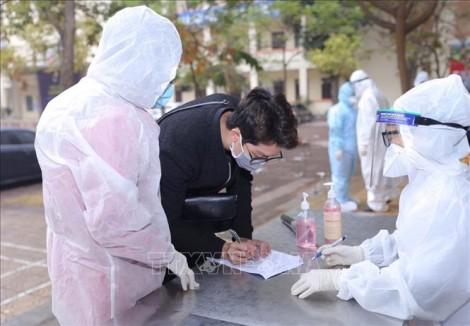 Chiều 27-2-2021, Việt Nam thêm 6 ca mắc mới COVID-19 trong cộng đồng ghi nhận tại Hải Dương