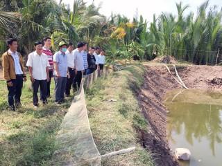 Khảo sát nuôi thủy sản theo hướng xuất khẩu tại cù lao Đất
