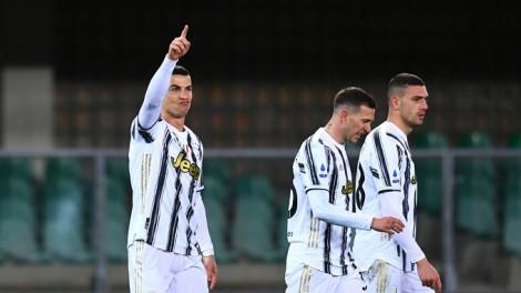 Ronaldo ghi bàn, Juventus vẫn bị cầm hòa đáng tiếc