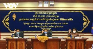 Quốc hội Campuchia thông qua dự thảo luật phòng chống dịch Covid-19