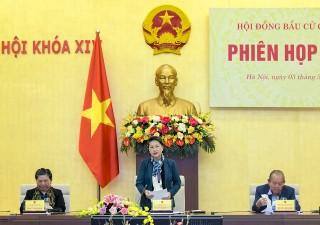 Chủ tịch Quốc hội chủ trì Phiên họp thứ ba Hội đồng Bầu cử quốc gia