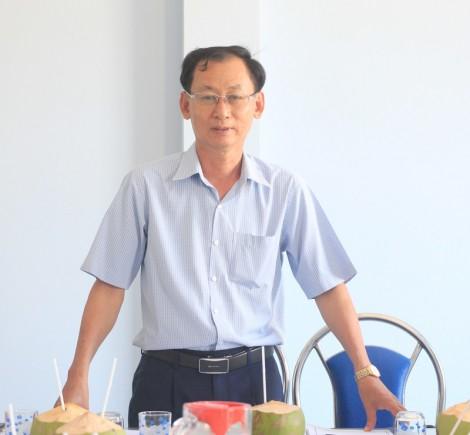 Phó chủ tịch UBND tỉnh làm việc với Trung tâm Nông nghiệp ứng dụng công nghệ cao