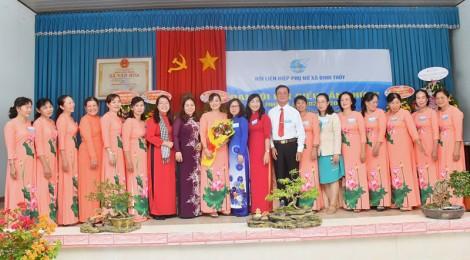 Đại hội điểm Hội Liên hiệp Phụ nữ xã Định Thủy