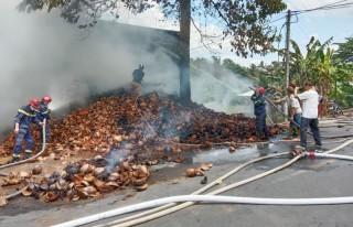 Nâng cao ý thức cảnh giác, phòng chống cháy nổ trong mùa khô