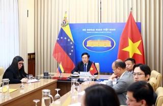 Tăng cường quan hệ Đối tác toàn diện Việt Nam - Venezuela