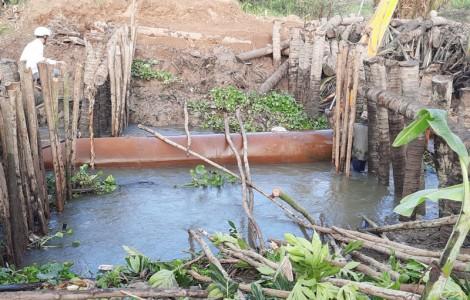 Châu Thành đảm bảo nguồn nước ngọt phục vụ sản xuất
