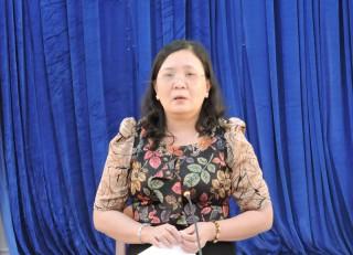 Thường trực Tỉnh ủy làm việc với Ban Thường vụ Huyện ủy Châu Thành
