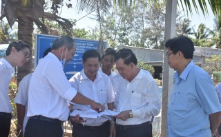 Chủ tịch UBND tỉnh khảo sát thực tế tại Khu công nghiệp Phú Thuận