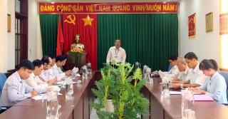 Ban Văn hóa - Xã hội, HĐND tỉnh họp báo cáo thẩm tra về tình hình tổ chức và hoạt động của UBND tỉnh