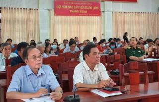 Hội nghị trực tuyến báo cáo viên Trung ương tháng 3-2021