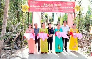 Khánh thành cầu liên Tổ NDTQ ấp Phú Lợi Hạ, xã An Định