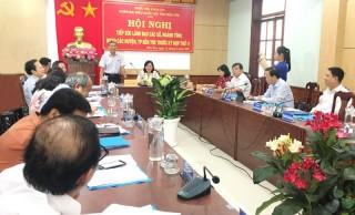 Đoàn đại biểu Quốc hội tỉnh Bến Tre tổ chức hội nghị tiếp xúc trước Kỳ họp thứ 11, Quốc hội khoá XIV