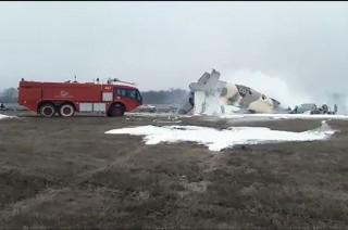 Tai nạn máy bay ở Kazakhstan khiến ít nhất 4 người thiệt mạng