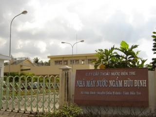 Việc tách thị phần xã Long Định, Thới Lai, Vang Quới Đông ra khỏi Nhà máy nước Đại Quang Thủy
