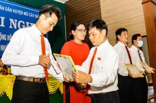HĐND huyện Mỏ Cày Bắc tổng kết nhiệm kỳ 2016 - 2021