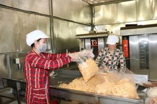 Sản phẩm OCOP huyện Mỏ Cày Nam gia nhập thị trường