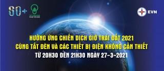 Khởi động hưởng ứng Chiến dịch Giờ Trái đất 2021