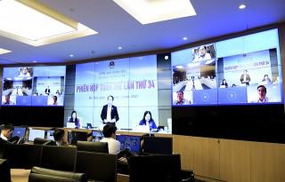 Phiên họp toàn thể lần thứ 34 Ủy ban Pháp luật của Quốc hội
