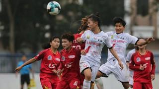 Giải bóng đá nữ U19 QG 2021:  Hà Nội Watabe bị chia điểm phút bù giờ