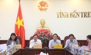 Thành viên UBND tỉnh họp lệ kỳ tháng 3-2021