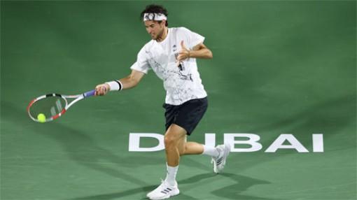 Hạt giống số một Dominic Thiem bị loại ở trận ra quân tại Dubai
