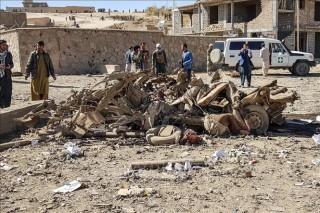Đánh bom xe tại Afghanistan nhằm vào nhân viên chính phủ
