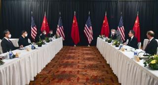 Mỹ, Trung Quốc kết thúc vòng một trao đổi cấp cao ở Alaska trong căng thẳng
