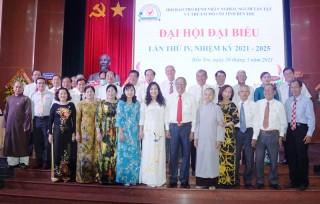 Ông Trần Công Ngữ đắc cử chức danh Chủ tịch Hội Bảo trợ bệnh nhân nghèo tỉnh Bến Tre nhiệm kỳ 2021 - 2025