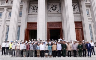 Bàn giao công trình Nhà Quốc hội phục vụ Kỳ họp thứ nhất Quốc hội Lào